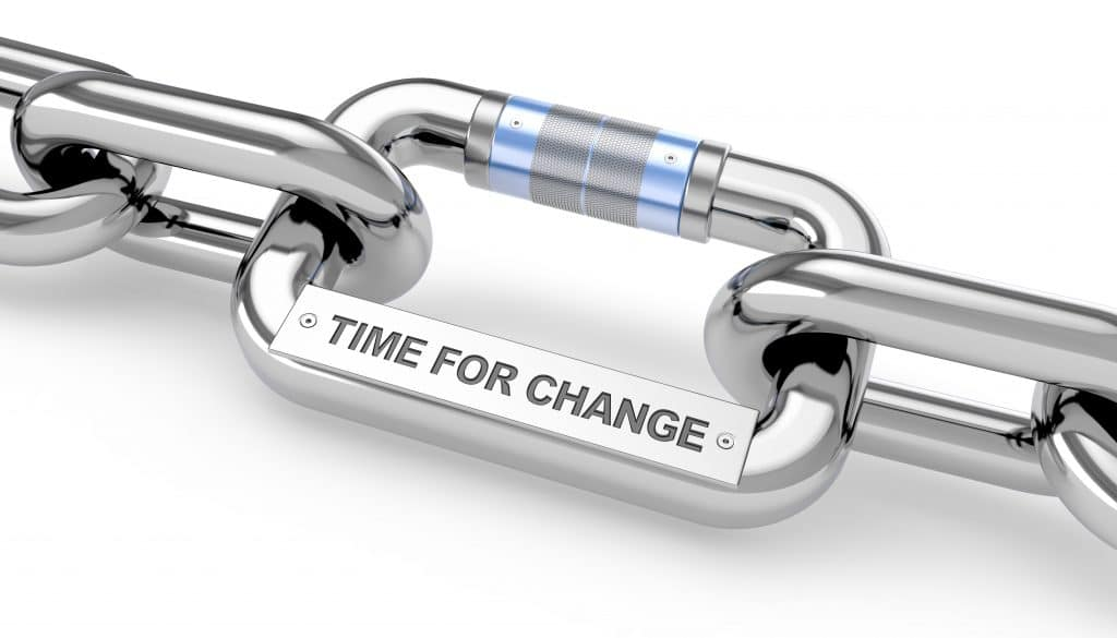 Time for change - chain