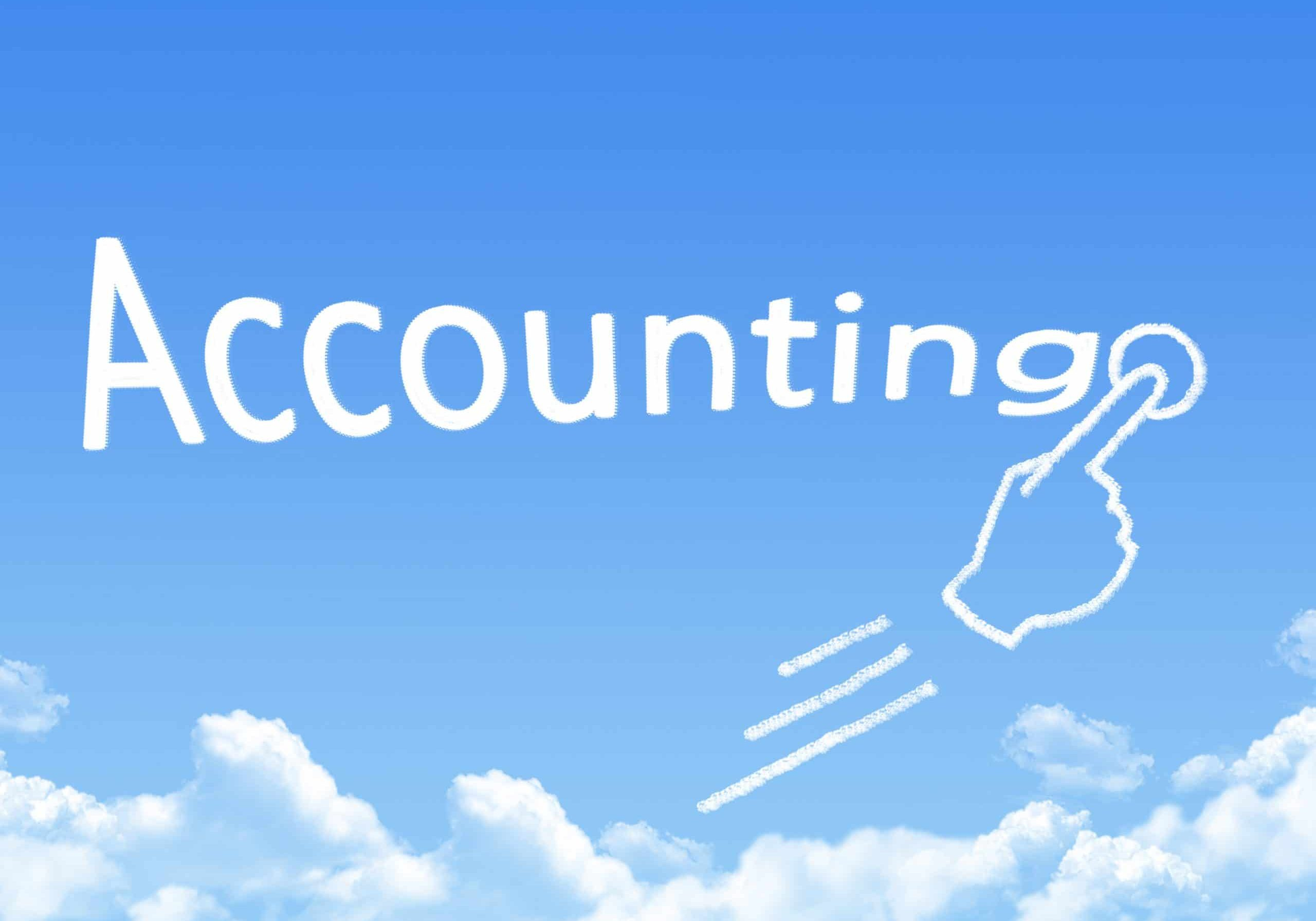 Accounting cloud storage